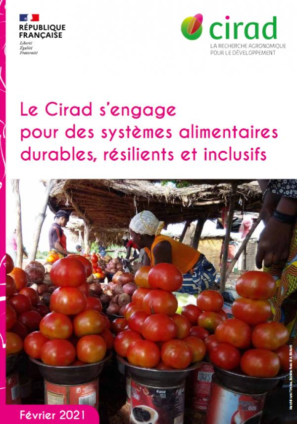 Couverture de la note Systèmes alimentaires durables