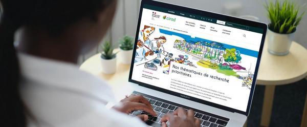 Le Cirad lance son nouveau site web institutionnel