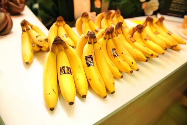 La commercialisation de la Pointe d'Or a été annoncée par la filière Banane de Guadeloupe et Martinique et Carrefour durant le Salon de l'Agriculture 2020. © K. Bagoee, UGPBAN