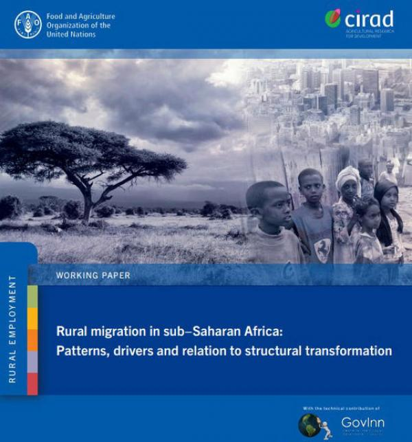 Rural migration in sub-Saharan Africa: Patterns, drivers and relation to structural transformation