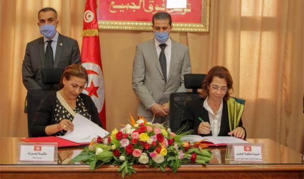 Signatures de conventions pour mettre en application le PACTE en Tunisie