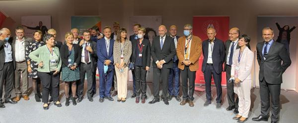 Le Cirad signe la convention d'entente stratégique des partenaires de l' I-Site Muse © Cirad