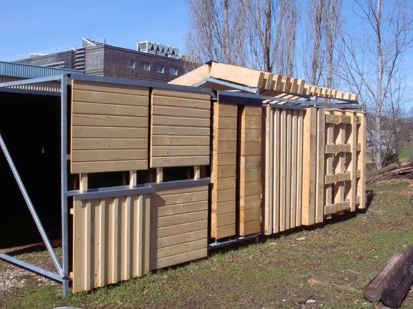 Essais de protection des bois et des matériaux dérivés © Cirad