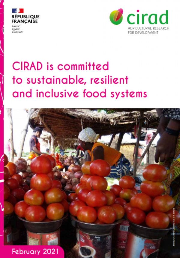 CIRAD is committed  to sustainable, resilient  and inclusive food systems