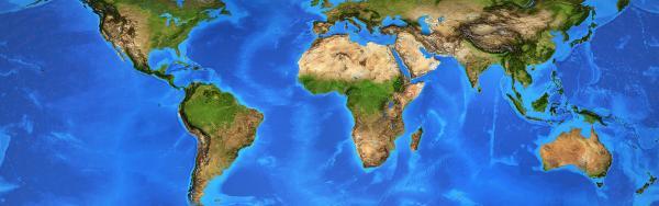 Carte du monde. ©-Adobe-Stock