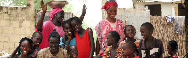 A rural family in central Senegal C. Dangléant © CIRAD