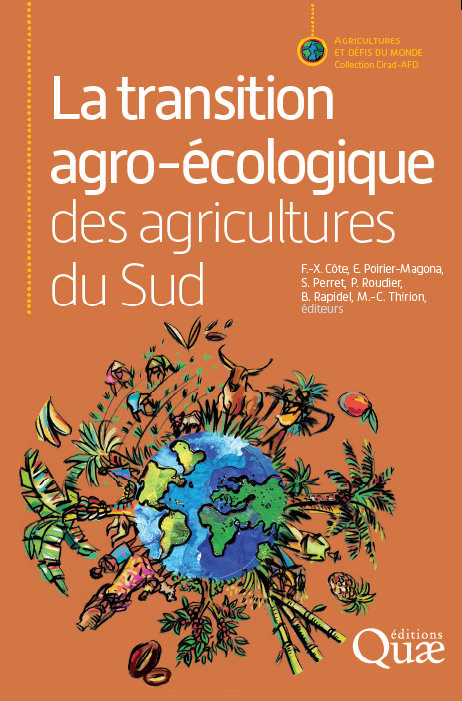 The agroecological transition of agricultural systems in the Global South (cover) Editions Quae, June 2019. Illustration: N. Le Gall