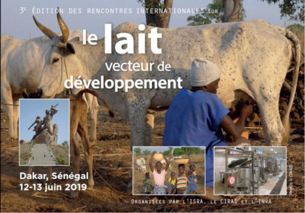 La 3e édition du symposium « Lait, vecteur de développement » se tient les 12 et 13 juin à Dakar au Sénégal.