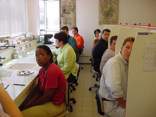 Tests gustatifs. Photo
