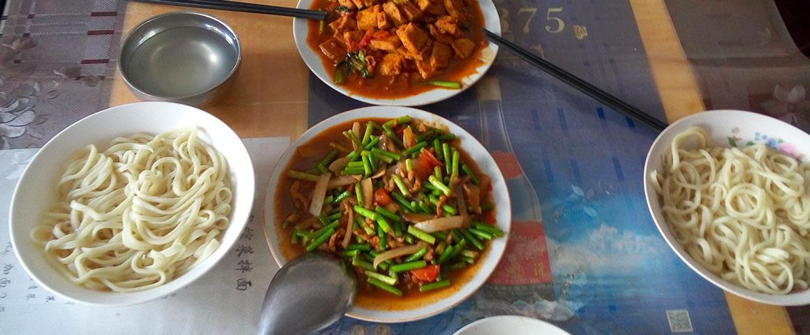Repas en Chine. © P. Moustier, Cirad