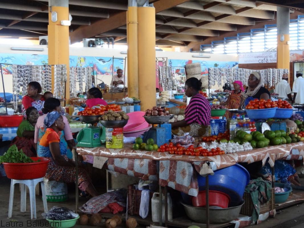 Pour éradiquer la faim et la malnutrition en 2030, il va falloir changer de cap et notamment trouver les moyens de réduire le coût d'une alimentation saine et diversifiée © Cirad, L. Balberini