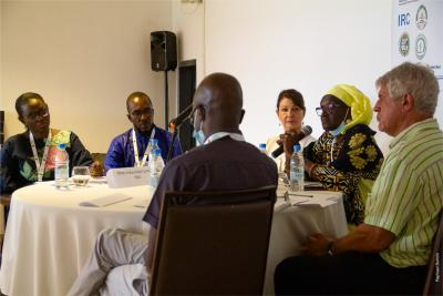 """The round table on """"One Health, Agroecology and Public Policies"""" marked the launch of the Health & Territories project on Monday 27 September in Sally, Senegal© R. Belmin, CIRAD"""