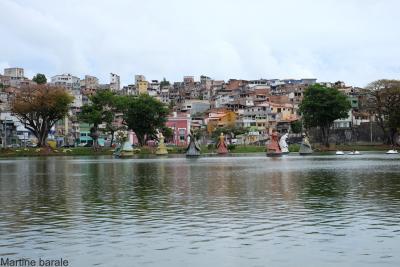 Orixas statues at Dique do Tororo, Salvador da Bahia, Brazil, Martine Barale © CIRAD