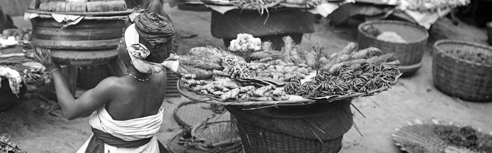 Porto Novo spice market, Benin Y. Henry © CIRAD