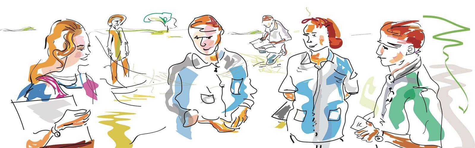 Illustration. © Delphine Guard-Lavastre, Cirad