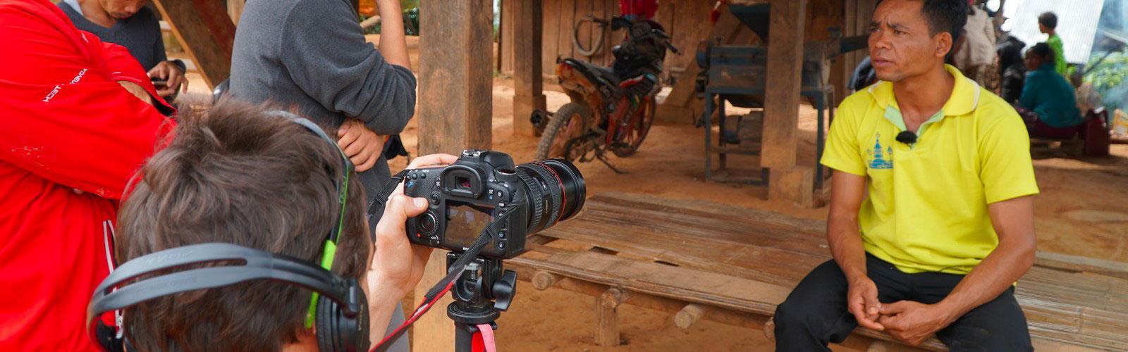 Filming © C.Dangleant, CIRAD